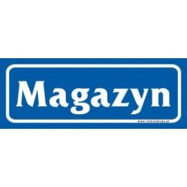 naklejka IN 11 - magazyn