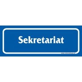 naklejka IN 15 - sekretariat
