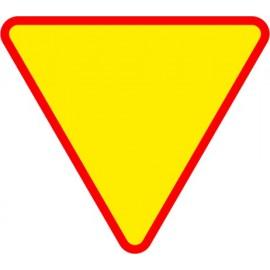 Naklejka znak ostrzegawczy A-7 Ustąp pierszeństwa