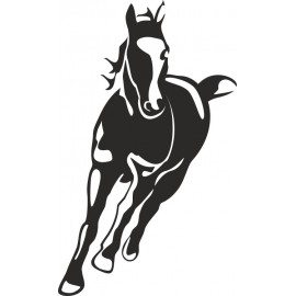 Naklejka wycinana N44 koń