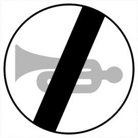 B-30 Koniec zakazu używania sygnałów dźwiękowych.