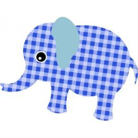 Naklejka ścienna dekoracyjna D33 słoń O