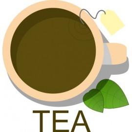 Naklejka ścienna dekoracyjna D129 herbata O