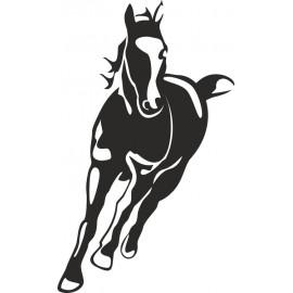 Naklejka ścienna, na ścianę, dekoracyjna N44 koń