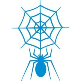 Naklejka ścienna, na ścianę, dekoracyjna N56 pająk O