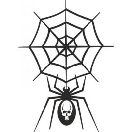Naklejka ścienna, na ścianę, dekoracyjna N57 pająk O