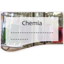 Naklejka na zeszyt SZ13 Chemia