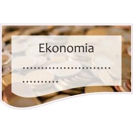 Naklejka na zeszyt SZ20 Ekonomia