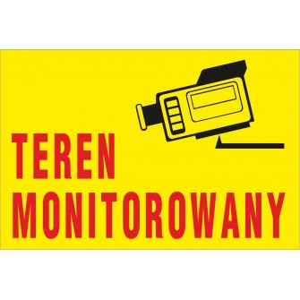 teren monitorowany TM05 teren monitorowany kamera na kasety