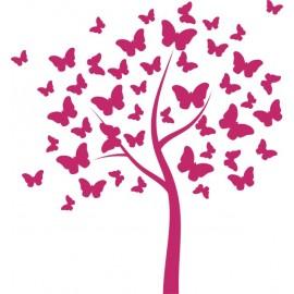 Naklejka dekoracyjna SF 05a drzewo motylkowe
