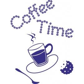 Naklejka dekoracyjna SF09 kawa