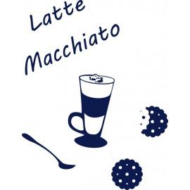 Naklejka dekoracyjna SF13 kawa