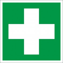 naklejka IN 27 - pomoc medyczna, apteczka