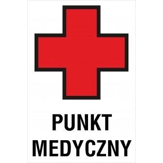 tabliczka Punkt medyczny ZB06