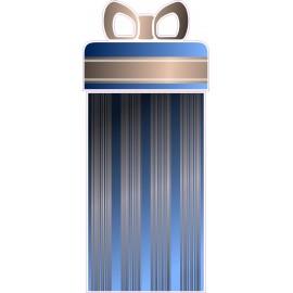 Naklejka ścienna dekoracyjna D240 prezent