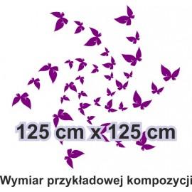 Naklejka dekoracyjna - SF27 motyle