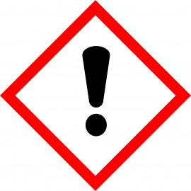 Naklejka Piktogram  GHS07  - Substancje drażniące - toksyczne