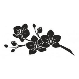 Naklejka dekoracyjna - SFE01a Kwiaty