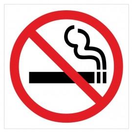 Naklejka ZPE02- zakaz palenia papierosów