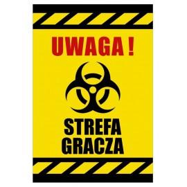 Tabliczka Uwaga Streafa Gracza USGE02