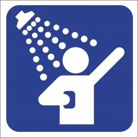 naklejka IN 41 - prysznic