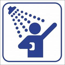 naklejka IN 42 - prysznic