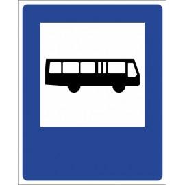 Znak drogowy D-15 Przystanek autobusowy