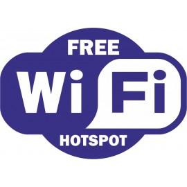 Naklejka WiFi - wzór C
