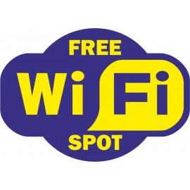 Naklejka WiFi - wzór B