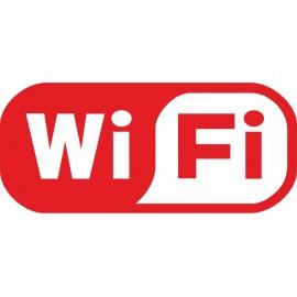 Naklejka WiFi - wzór D