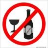 naklejka zakaz spożywania alkoholu