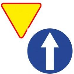 Naklejki Znaki nakazu