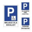 Oznaczenia parkingów