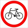 B-9 Zakaz wjazdu rowerów