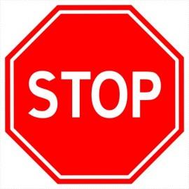 Znak drogowy B-20 Stop