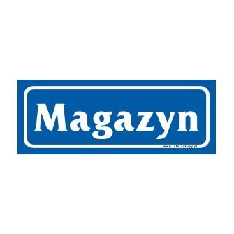 naklejka magazyn