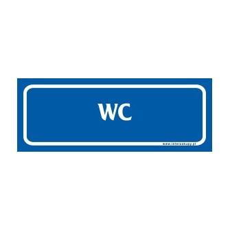 naklejka WC - 02