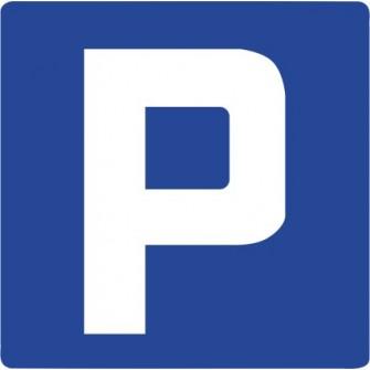 Naklejka znak informacyjny D-18 parking