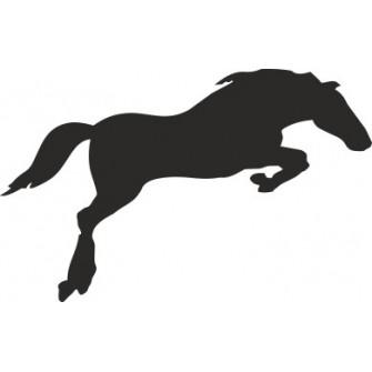 Naklejka wycinana N16 koń