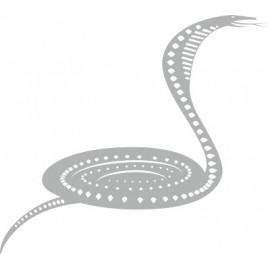 Naklejka wycinana N64 wąż O