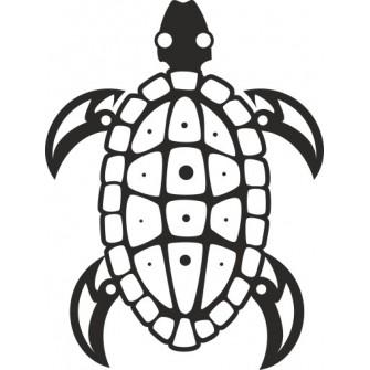 Naklejka wycinana N71 żółw O