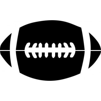 Naklejka wycinana N87 rugby O