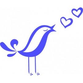 Naklejka wycinana N96 ptak O