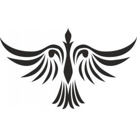 Naklejka wycinana N97 ptak O