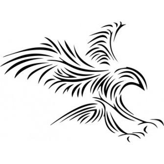 Naklejka wycinana N102 ptak
