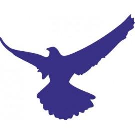 Naklejka wycinana N105 ptak O
