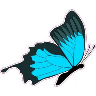 Naklejka ścienna dekoracyjna D04 motyle P