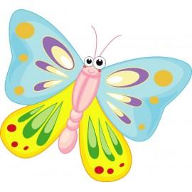 Naklejka ścienna dekoracyjna D05 motyle C