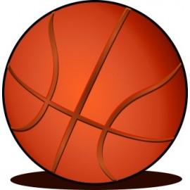 Naklejka ścienna dekoracyjna D66 koszykówka O