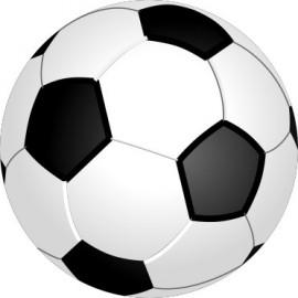 Naklejka ścienna dekoracyjna D68 piłka nożna O